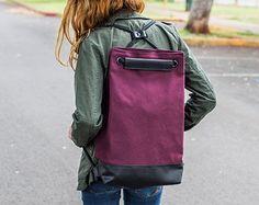 Saquito de Mochilas - Mochila de lona - hipster morral - mochila ligera - diseño mochila - mochila de lazo - cadena