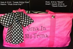 How do you organize the junk in your trunk?  #thirtyone