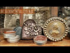 Finnabair Demonstrates Art Alchemy Metallique Waxes - Stampington & Company