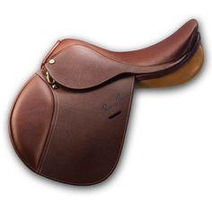 Rodrigo Pessoa® Pony Saddle w/ Pencil Knee Roll