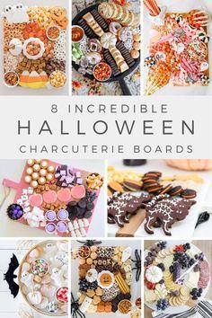Halloween Desserts, Holidays Halloween, Halloween Treats, Happy Halloween, Halloween Magic, Spooky Treats, Halloween Recipe, Charcuterie Recipes, Charcuterie Board