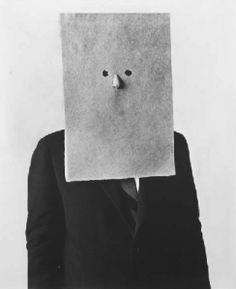 Saul Steinberg by Irving Penn in New York, 30 September 1966.