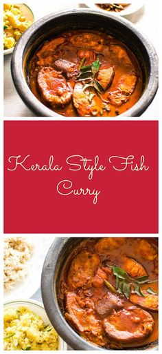 Ready for a lip smacking Fish Curry from southern India? Indian Food Recipes, Asian Recipes, Healthy Recipes, Ethnic Recipes, Seafood Dishes, Pasta Dishes, Kerala Food, Fish Curry, Recipe Mix