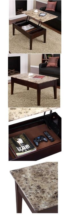 tables 38204: wood coffee table rectangle modern living room