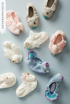 Crocheted Booties | Shop holiday gifts for kids