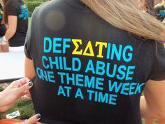 Sigma Delta Tau & Prevent Child Abuse America.
