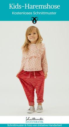 Kids harem pants- Kids-Haremshose Kids-Haremshose-Kinderhose-Sewing-for-childre. - Kids harem pants- Kids-Haremshose Kids-Haremshose-Kinderhose-Sewing-for-children-free-sewing-patte - Kids Harem Pants, Harem Pants Pattern, Harem Trousers, Warm Outfits, Outfits For Teens, Fashion Kids, Fashion Outfits, Fashion Games, Sewing Patterns Free