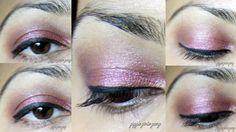 Eye Look: Berry smokey EOTD #eyemakeup #bbloggers #beauty #eotd #maybelline #loreal