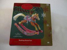 Rocking Horse Fun Carlton Cards Heirloom Ornament 8th in Series 2005 #86