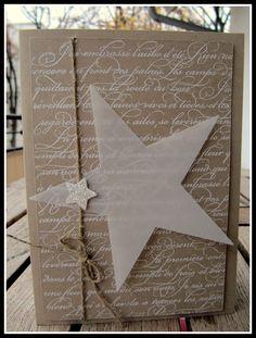 54 ideas diy paper stars stampin up Diy Christmas Wedding, Christmas Card Crafts, Homemade Christmas Cards, Stampin Up Christmas, Christmas Paper, Handmade Christmas, Homemade Cards, Holiday Cards, Merry Christmas
