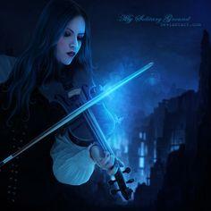 Verses of a Violin by mysolitaryground.deviantart.com on @DeviantArt