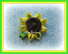 Sunflower Hairbow
