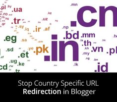 I will learn you How to Stop Country Specific URL Redirection in Blogger | just free learn