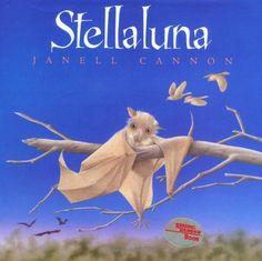 Stellaluna. I loved this book as a kid! I even had a Stellaluna stuffed animal. :)