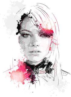 Portraits 6 on Behance