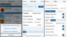 best mileage expense tracker app iphone