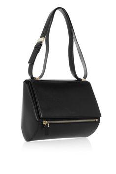 eae567369ecf Givenchy - Medium Pandora Box bag in black leather