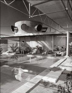 Albert Frey, Frey house, Palm Springs, by Julius Shulman