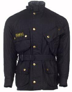 Great all-season Jacket! Waxed cotton. Barbour International Jacket - British Motorcycle Gear