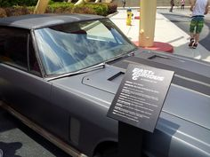 Here is another car from Fast and Furious 6 at Universal Studios Florida. The cars are at the New York streets section.