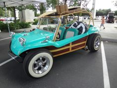 VW Buggy from VW Invasion 2...The Caribbean Woody look.