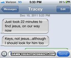 22 minutes to find Jesus