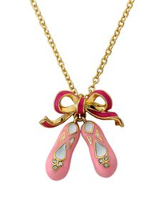 Ballet Shoes Necklace from Sunday Style for Girls: Dresses & Shoes on Gilt