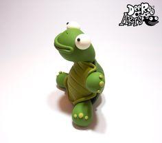 www.deeraaarts.com Dee Raa Arts tortoise polymer clay cute kawaii sculpey fimo turtle www.facebook.com/deeraaarts