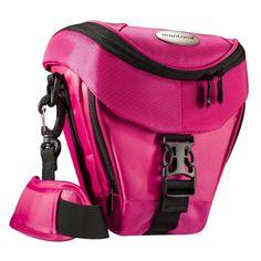 Mantona Colt SLR-Kameratasche (Universaltasche inkl. Schnellzugriff, Staubschutz, Tragegurt und Zubehörfach) pink - http://kameras-kaufen.de/mantona/pink-mantona-colt-slr-kameratasche-inkl-und
