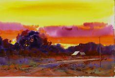 Delta SUNSET -Gary Walters