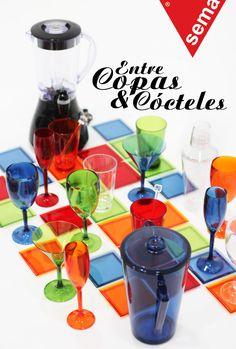 Entre copas y cócteles. #sema #homedeco #colors Por: Michelle Urtecho, diseñadora industrial y de interiores. Fotos: Brisa Then.