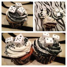 Bunco Cupcakes.  Bunco Food
