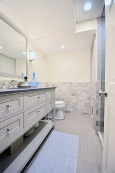 Traditional Updates to Georgetown Bath transitional-bathroom