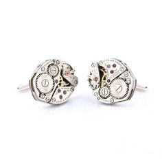 Love these Steampunk Cufflinks now featured on Fab.
