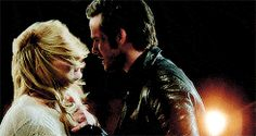 """The final moment-Emma and Killian - 4 * 22 """"Operation Mongoose"""" Captain Swan, Captain Hook, Swan Love, Sean Maguire, Abc Tv Shows, The Dark One, Hook And Emma, Outlaw Queen, Killian Jones"""