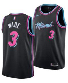 031be89f0 Men s Dwyane Wade Miami Heat City Swingman Jersey 2018