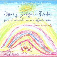 CD con rimas y juegos de dedos. Nursery Rhymes, Beach Mat, Homeschool, Outdoor Blanket, Finger Print, Cards, Spanish, Children's Literature, Finger Plays