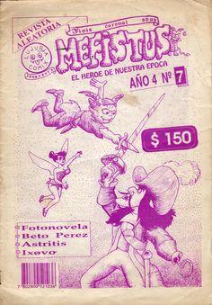 Mefistus N° 7  Séptimo y último  número del fanzine de cómics «Mefistus, El Héroe de Nuestra Epoca» publicado en Valdivia en 1993. Más información en http://bufoland.blogspot.com/2014/08/fanzine-mefistus-el-heroe-de-nuestra_31.html