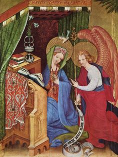 Passionsaltar (Wildungen-Altar), linker Flügel, 1403  Stadtkirche St. Nikolaus Bad Wildungen