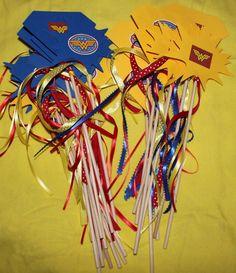 Wonder Woman party supplies
