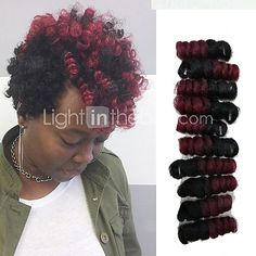 curlkalon crochet hair 10inch kanekalon curly braiding hair 20pieces/pack Afro Kinky Twist Ombre Saniya curl bouncy twis 5packs make head - USD $7.30 ! HOT Product! A hot product at an incredible low price is now on sale! Come check it out along with other items like this. Get great discounts, earn Rewards and much more each time you shop with us!