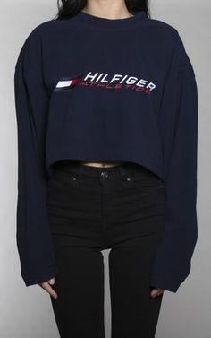 Vintage Tommy Hilfiger Crop Fleece