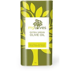 My Olives Extra Virgin Olive Oil from Greece. Selected by www.soilandsun.co.uk