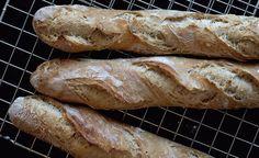 #frabloggerne - lagre de siste oppskriftene fra de beste norske matbloggerne i din kokebok: frutimian - Eltefrie, supergode baguetter!