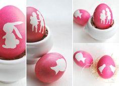 silhouette eggs!