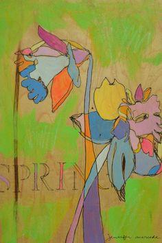spring daffs (jennifer mercede)   Flickr - Photo Sharing! daffodils