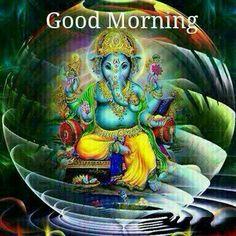 Good Morning Images Lord Ganesha Hindi Quotes Mornings Of Imeges