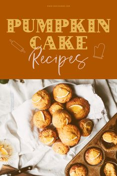 Pumpkin cake is not hard to make at all. In fact, we've got a very easy recipe that you can try right here and ready to go! Quick Dessert Recipes, Cupcake Recipes, Baking Cupcakes, Yummy Cupcakes, Fall Treats, Food For A Crowd, Fall Desserts, Homemade Cakes, No Bake Cake