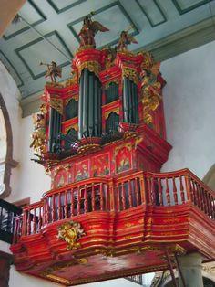 Detail of the organ of the Faro church, Algarve #Portugal