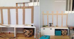 DIY mudroom: Ikea Hack   TheMombot.com